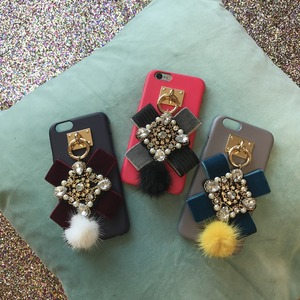 VELVET KEYRING  for iPhone/Galaxy